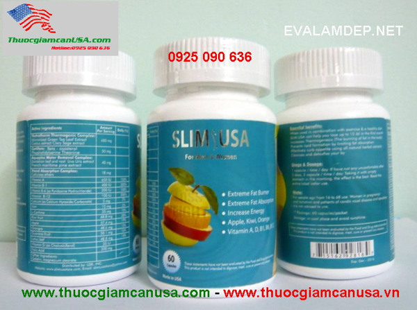 Slim Usa, thuoc giam can slim usa